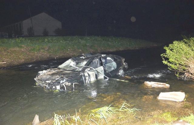 Зять нардепа Ланьо слетел с моста на Audi и разбился