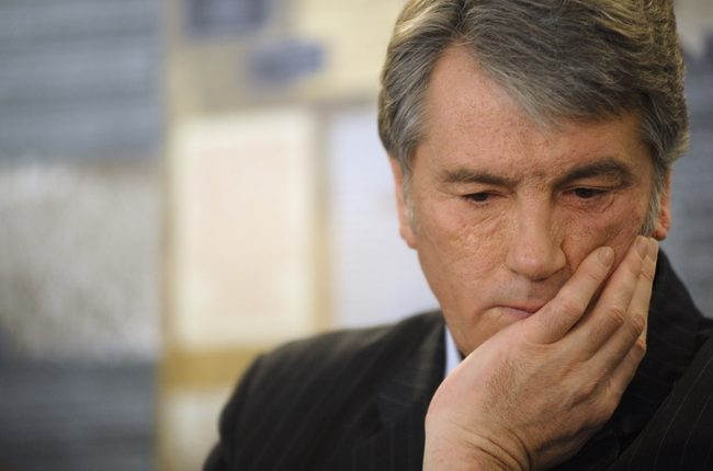 Ющенко заявил о крахе банковской системы Украины