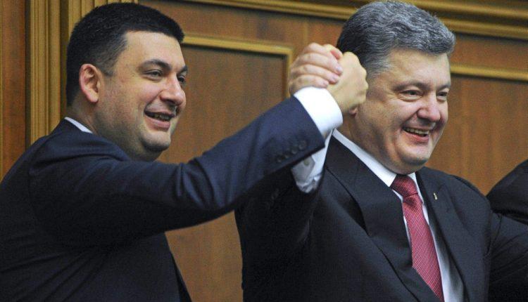 Гройсман не хочет быть наследником Порошенко в 2019 году