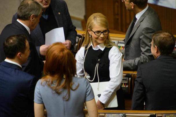 Стал известен официальный доход Тимошенко