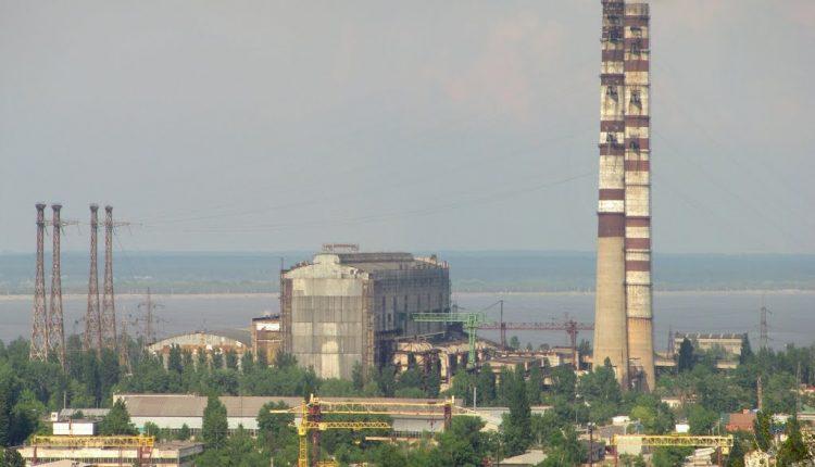 Ради «Евровидения» под Киевом «включили» Трипольскую ТЭС