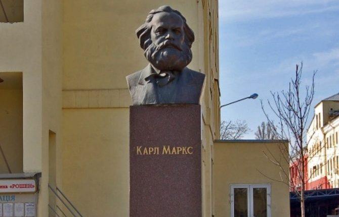 В ROSHEN только сейчас признались, что в декабре избавили Киев от Маркса