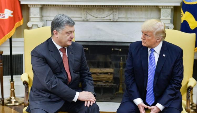 В Вашингтоне Порошенко встретился с Трампом