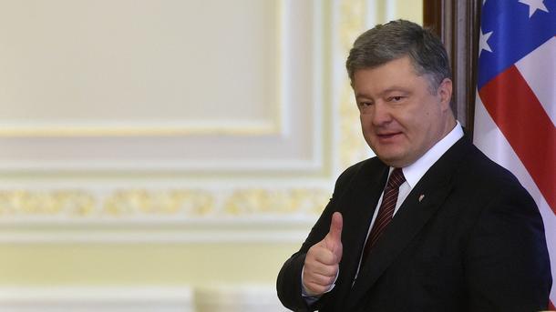 Назван главный лозунг предвыборной кампании Порошенко в 2019 году