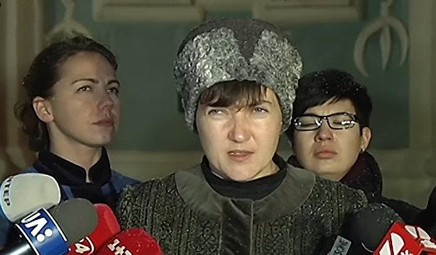 Савченко рассказала о том, что ее удовлетворит