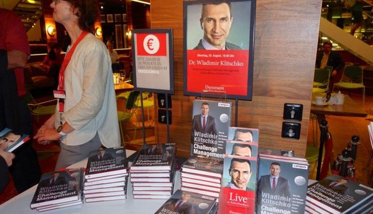 Кличко написал книгу о бизнесе и экономике