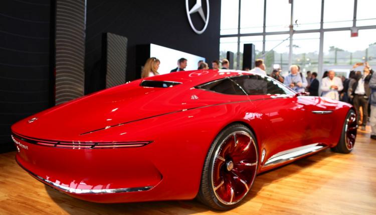 Хорошковский и жена Омеляна заказали Maybach Coupe почти за 3 млн евро