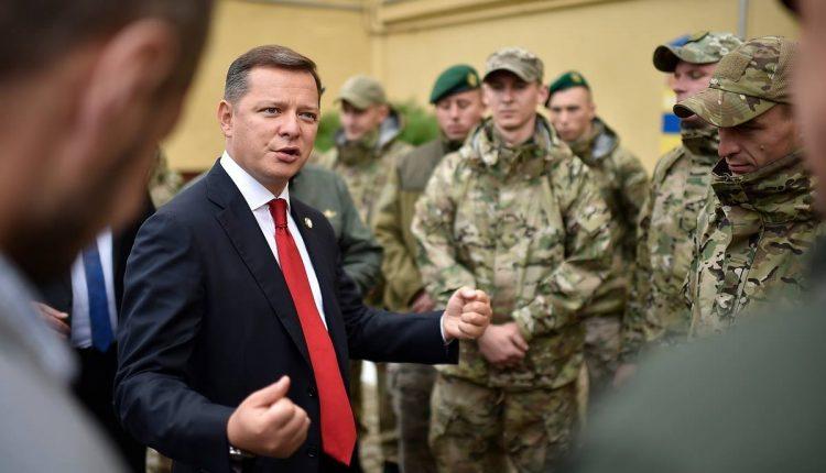 Олег Ляшко будет добиваться увеличения «пайки» для пограничных собак