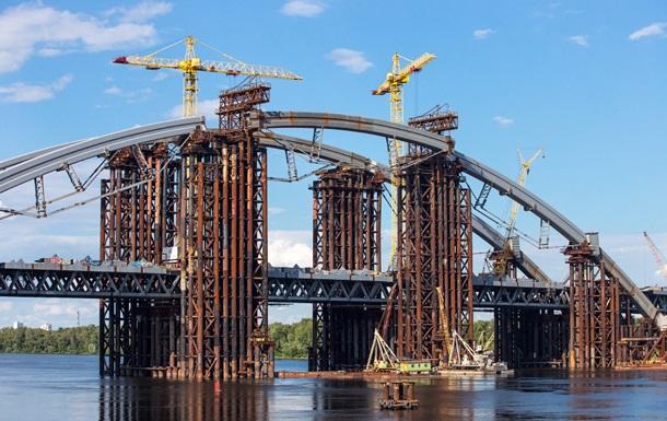 Конструкции для киевского моста через завод Порошенко покупают у россиян
