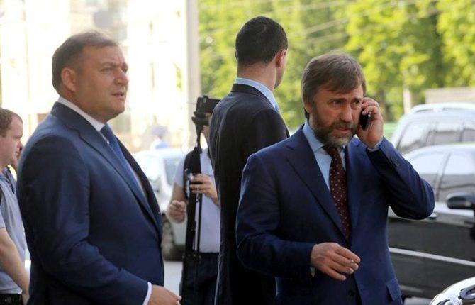 """Добкин уже ушел из """"Оппоблока"""", а Новинский заявил о """"договорняках"""" с властью"""