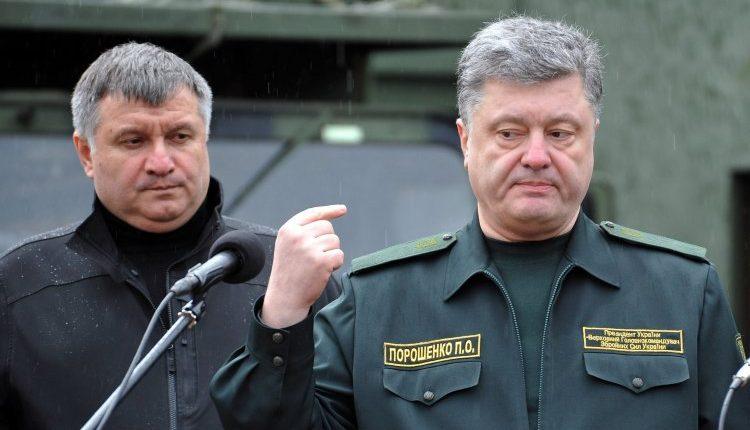 Стало известно, из-чего скандалили Порошенко с Аваковым