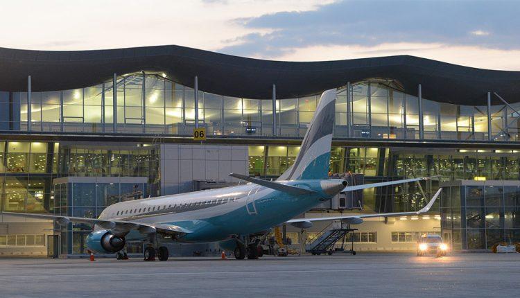 Аэропорт «Борисполь». Перрон для одного