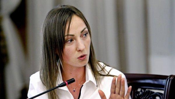 Нардеп Ирина Суслова пришла в Раду с сумкой за $2980