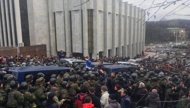 СБУ и ГПУ задержали Саакашвили