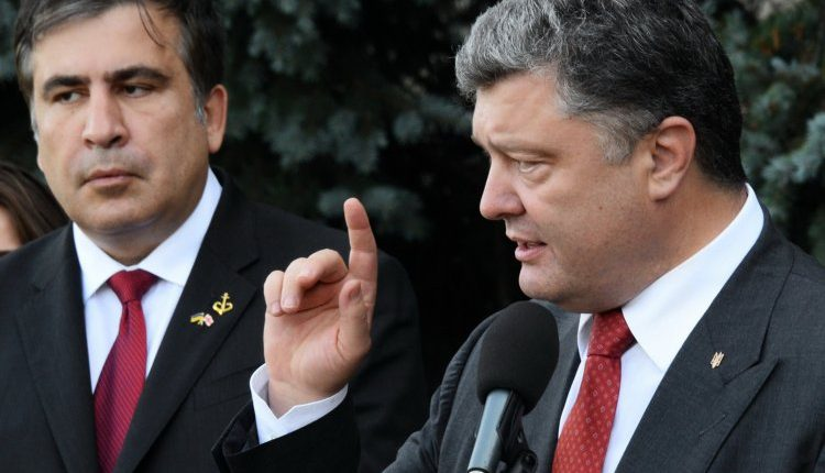 Порошенко заявил, что «гоп-компании» Саакашвили удалось его удивить