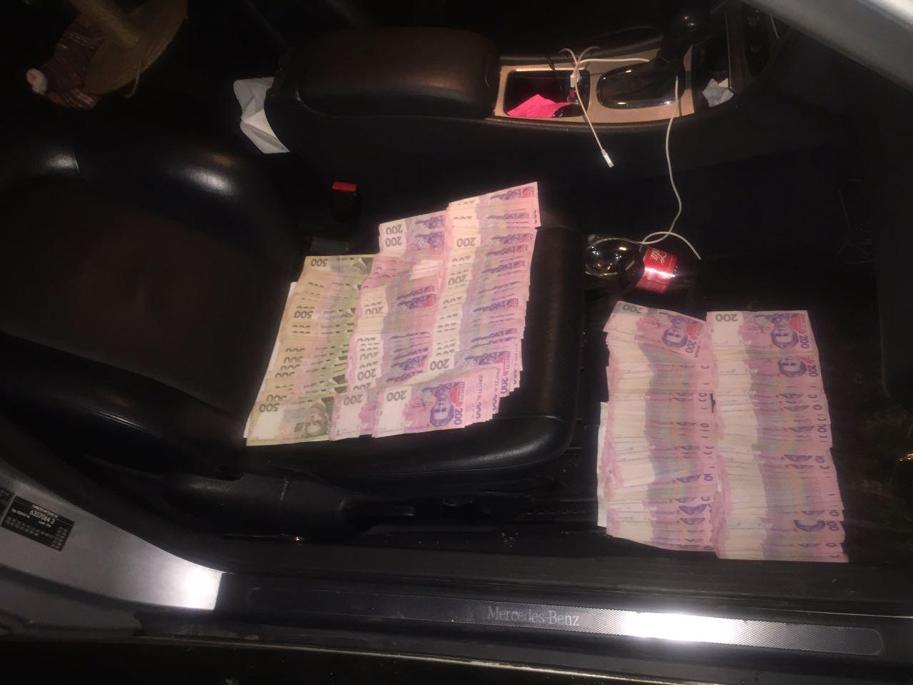 Под Киевом полицейский попался навзятке в123 тыс грн— СБУ
