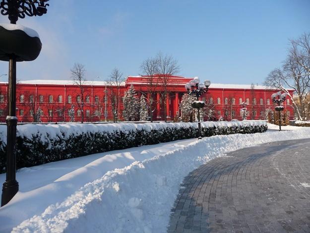 Киевский национальный институт отменил занятия довесны