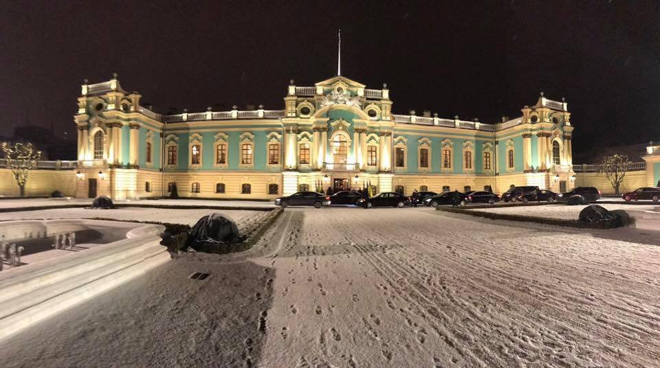 Мариинский дворец впервый раз принял высоких гостей после многолетнего ремонта