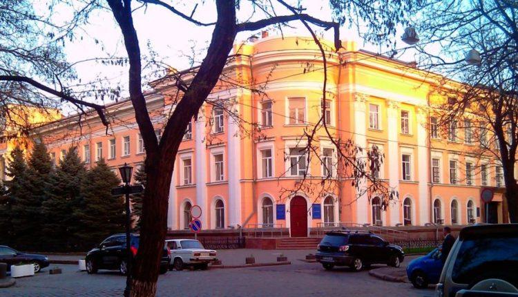 """В центре Одессы """"заминировали"""" банк"""