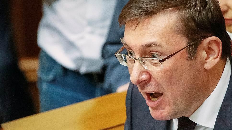 Давайте продадим русские буровые вышки вКрыму— «Гениальный план» Луценко