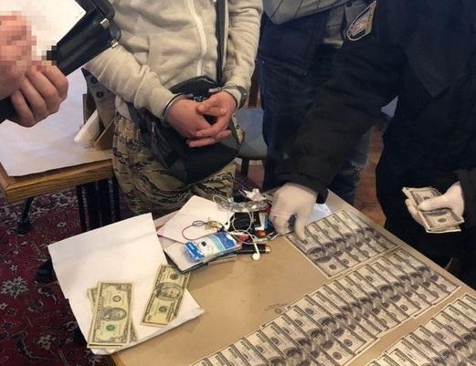 ВКиеве поймали шантажиста изРоссии, который требовал убизнесмена деньги