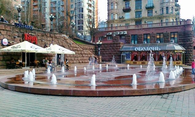 Суд вернул помещение фонтана наКрещатике общине столицы Украины