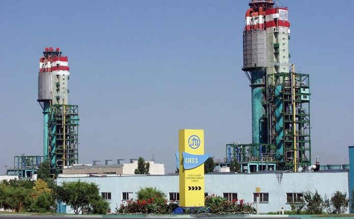 ОПЗ прекратил работу из-за отсутствия поставок газа