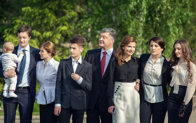 Стали известны кумиры детей Порошенко