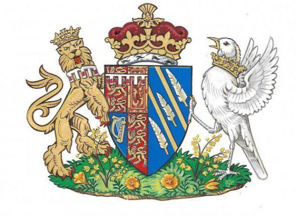 Супруга принца Гарри получила собственный герб