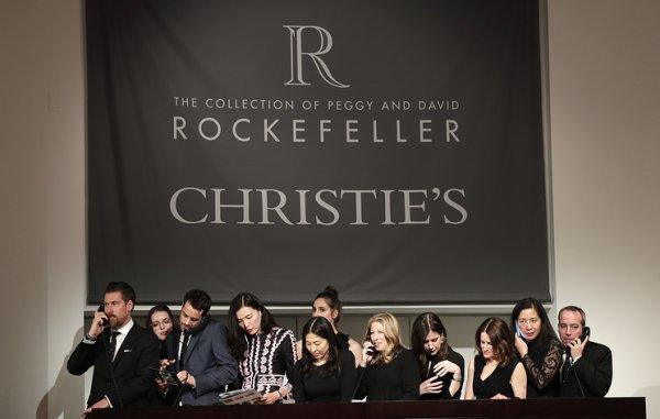 Драгоценности Рокфеллеров продали с аукциона за $20 млн