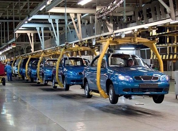 За десятилетие автопроизводство в Украине сократилось в 90 раз