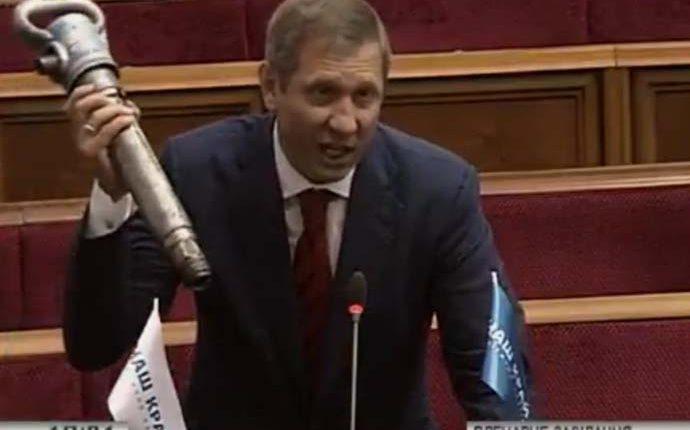 Нардеп Шахов подрался с министром Насаликом из-за долгов по зарплате