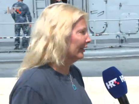 Британка упала вморе скруизного лайнера, ееспасли спустя 10 часов