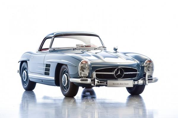 В Германии на аукцион выставили легендарный кабриолет Mercedes