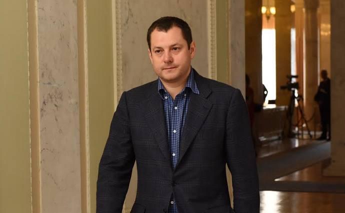 Нардеп Максим Ефимов получил 25 млн гривен в результате погашения долга