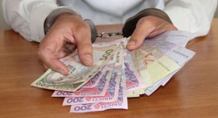 На Киевщине директор госпредприятия попался на взятке в 5 тысяч