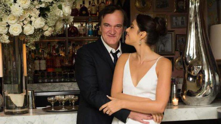 Закоренелый холостяк Квентин Тарантино впервые женился