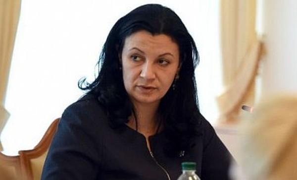 Стало известно, сколько заработала в октябре вице-премьер Климпуш-Цинцадзе