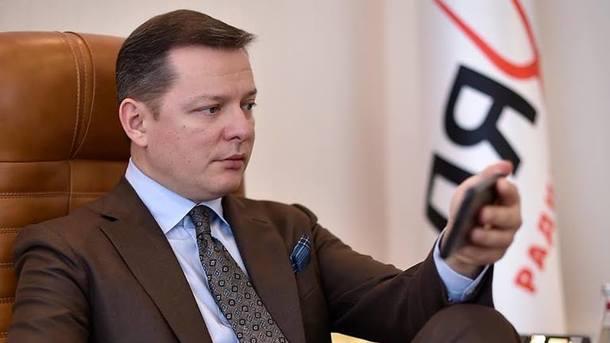 Партия Ляшко платит миллионы телеканалам, против которых требует ввести санкции