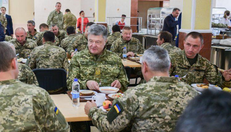 Сапожник из Донецка накормит украинских военных