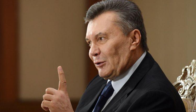 Беглый Виктор Янукович потерял способность двигаться