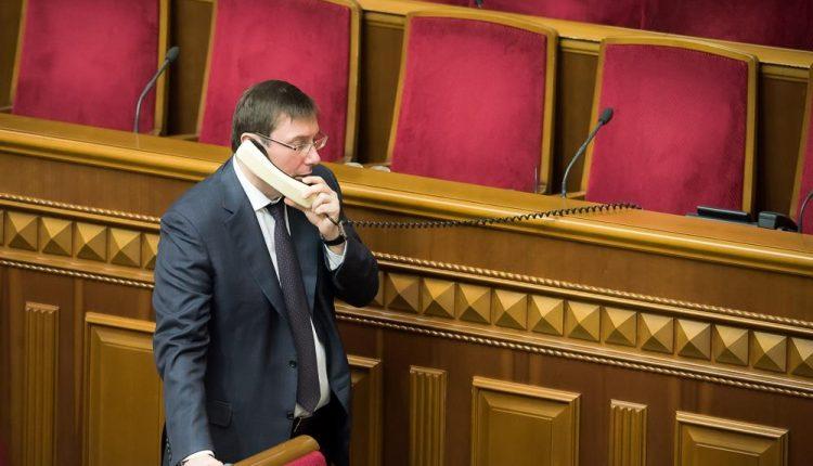 """Виктор Небоженко: """"Отставка Луценко не может быть его личным решением"""""""