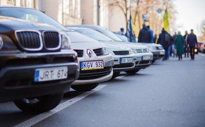Верховная Рада усилила наказание за автомобили на еврономерах