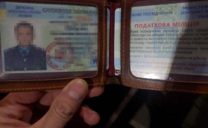 На Киевщине СБУ задержала двух фискалов за вымогательство $3 тысяч