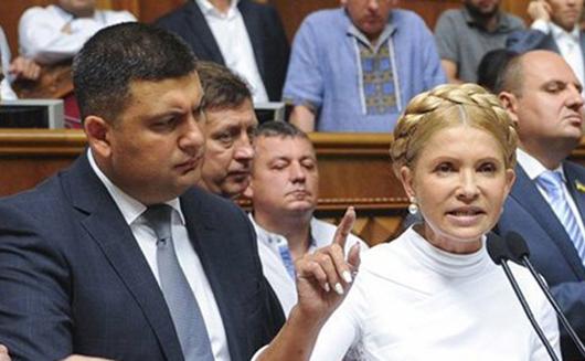 Гройсман отложил Центрэнерго до прихода Тимошенко