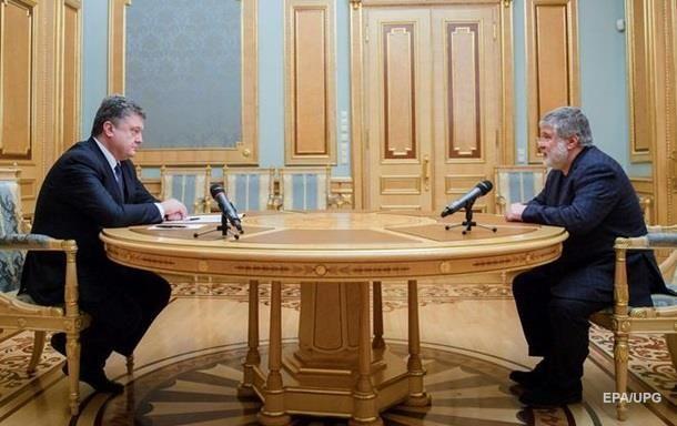 Коломойский не дает Порошенко спуск