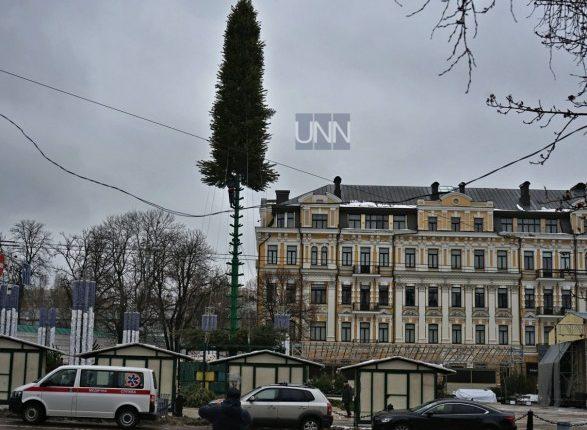 Главная елка Киева обойдется в 2,7 млн гривен