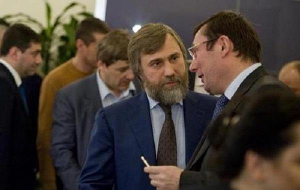 Луценко пришел к Новинскому за ЧСЗ