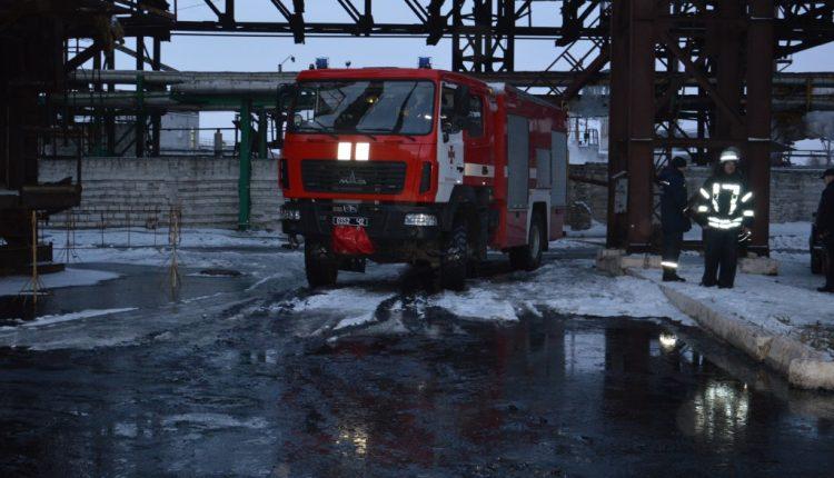 На коксохимическом заводе Ахметова произошел пожар, пострадали пять человек