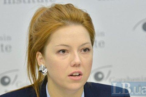 Депутат Алена Шкрум пришла в Раду с сумкой стоимостью $2590